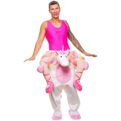 Carry me - Unicorn - Einhorn - Einhornkostüm Huckepack (Einhorn Kostüme Wicked)