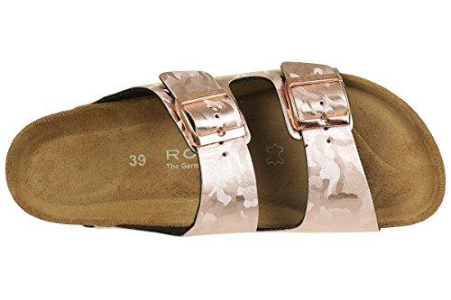 Rohde Alba 5614 Infradito Donna Copper