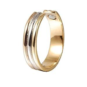 Magnetischer kupferner Ring für Arthritis-Frauen justierbare gesunde Tri-Tonlänge 60mm