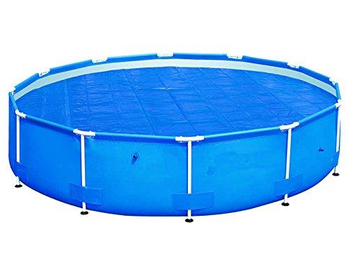 International Cover Pool Cubiertas t/érmicas sin Refuerzo 2x3 Metros 600 micras Espesor Piscinas