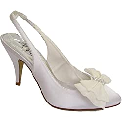 Perfect , Damen Sandalen , weiß - weiß - Größe: 36 EU