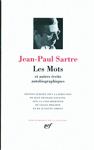 Les Mots Et Autres Ecrits Autobiographiques par Jean-Paul Sartre