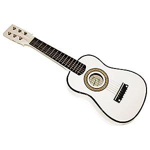 Cherrystone 07542355066071/16–6corde chitarra giocattolo in legno bambini 58,4cm (23pollici) bianco