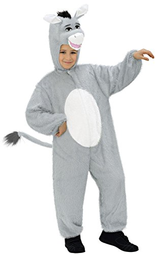 Widmann - Kinderkostüm Esel aus - Esel Kopf Kostüm
