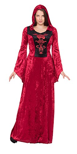 Mittelalterliche Prinzessin, Zauberin, Vampir Gothic, Burgfräulein Damen Kostüm Gr. M/L - 5