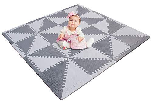 MU SHEN Alfombra puzle Niños bebe infantil Suelo