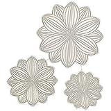 Shangwelluk 3D Flor Troqueles Scrapbooking, Acero al Carbono en Relieve Troqueles de Corte Plantillas Molde