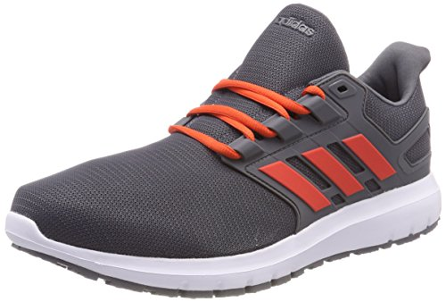 Adidas Energy Cloud 2 M, Scarpe En Cours D'exécution Uomo Grigio (grey Five / Salut-reset Red / Salut-reset Red 0)