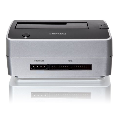 Freecom Festplatte Dock Pro 8,9 cm (3,5 Zoll)/6,4 cm (2,5 Zoll) Pata/SATA USB 2.0