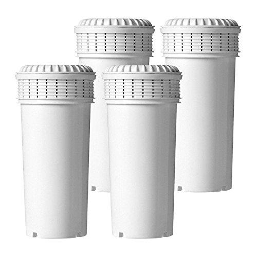 4 x Cartucce filtro acqua VYAIR compatibili con Tommee Tippee TM Sterilizzatore Perfect Prep TM Closer to Nature TM