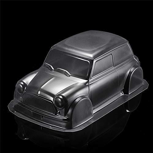 Kingduo 1/10 trasparente pvc rc car body shell 210mm passo per mini m03 rc modello di auto parti