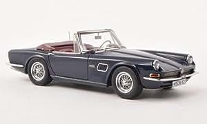 AC 428 Convertible, bleu foncé, 1966, voiture miniature, Miniature déjà montée, Neo limited 300 1:43