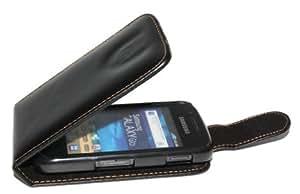 Handy Tasche Etui Hülle Flip für Samsung Galaxy GIO GT-S5660 / Handytasche Schutzhülle inkl. Handy-Punkt Displayreinigungstuch