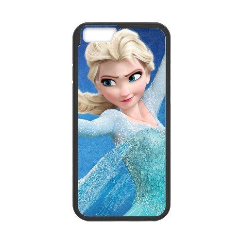 TPU Étui Coque Case Cover Pour iPhone 66S Housse de Disney Frozen, Elsa, Anna, Olaf Coque pour iPhone 6(4.7inch), Soft coque en silicone skin Housse Coque Shell de protection pour iP