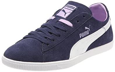Puma Glyde Lo Wn's 354050, Damen Klassische Sneakers, Blau (twilight blue-white-lavendula 05), EU 36 (UK 3.5) (US 6)