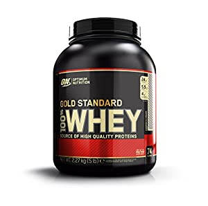 Optimum Nutrition Whey Gold Standard Protein Cookies und Cream, 2,3 kg