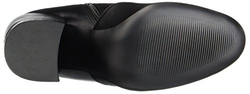 Steve Madden Gaze Ankleboot, Stivali Donna Nero (Black)