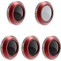 Hunpta@ Filtersfür DJI Mavic 2 Zoom, ND4 / ND8 / ND16 / UV/CPL Wasserdicht Kamera Objektiv Set Filter
