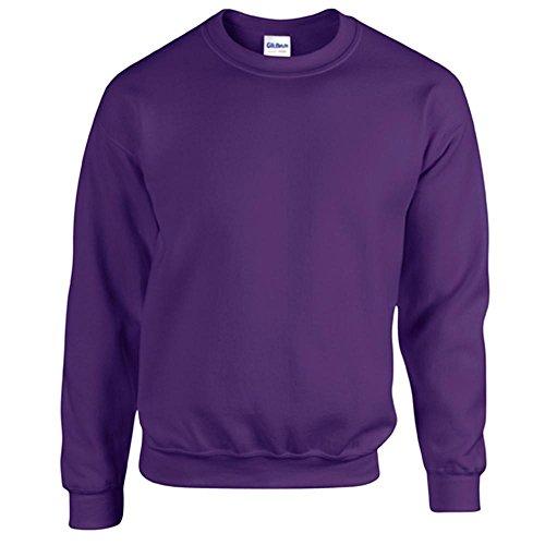 Gildan Heavy Blend Erwachsenen Crewneck Sweatshirt 18000 M, Purple