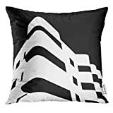 Throw Pillow Cover Building Bauhaus Tel Aviv City Old Architect Architecture Decorative Pillow Case Home Decor Square 18x18 Inches Pillowcase