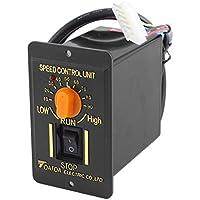sourcingmap® Controlador de velocidad de Motor de CA 220V 50Hz 200W 1 Fase CW/DCW 10-90RPM ajustable de la unidad