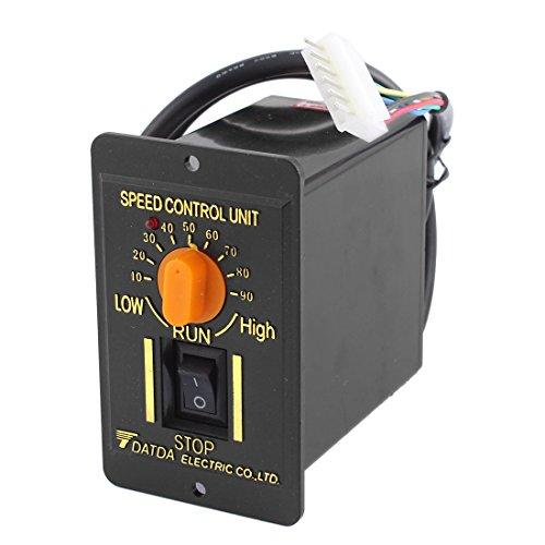 Preisvergleich Produktbild sourcingmap 220 V 50 Hz 200 W1-Phase CW/CCW 10-90 U/min einstellbar AC-Motor Fahrtregler