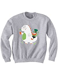 Green Turtle T-Shirts ST. Patrick's Day Leprechaun Dragon Beer Kids Sweatshirt