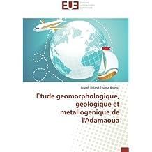 Etude geomorphologique, geologique et metallogenique de l'Adamaoua