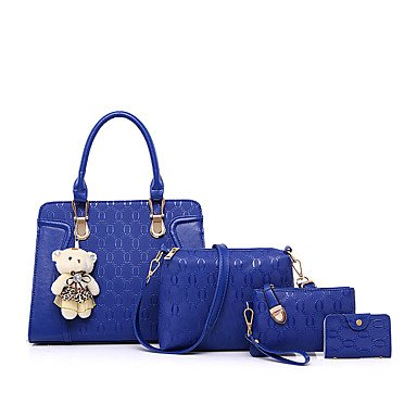 Le donne altri Casual / evento/Partito Set borsa,vino Royal Blue
