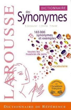 Dictionnaire DES Synonymes par E Genouvrier