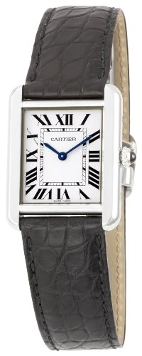 Cartier W5200005 - Reloj para mujeres, correa de cuero