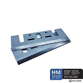 HM Hobelmesser 82mm für Bosch, Makita, Ryobi, 82 x 29 x 3 mm (2 Stück)