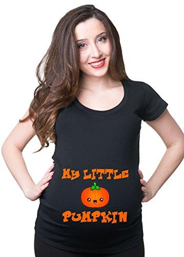 Silk Road Tees Wenig Pumpin Schwangerschafts-T-Shirt Halloween Umstands Frauen-T-Shirt T-Halloween-Kostüm für Schwangere Frauen X-Large Schwarz (Halloween-kostüm-mutterschafts-t-shirt)