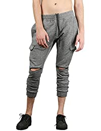 SKULT By Shahid Kapoor Men's Blended Drop Crotch Joggers