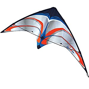 Brookite 30005Plata línea Doble línea Deportes Kite