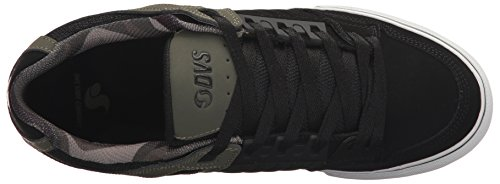 DVS Shoes Celsius CT, Sneaker Uomo BLACK OLIVE LTHR