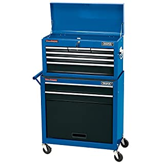 Draper Tools 51177 Two Drawer Roller Cabinet with Six Drawer Chest