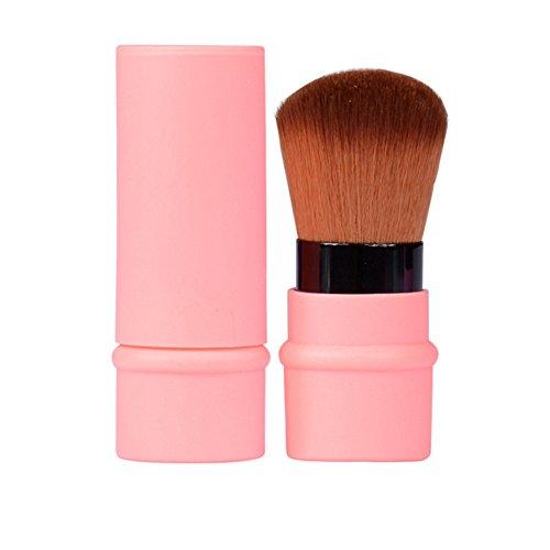 Pinceau Fard à Joues Rétractable Brosse Blush Télescopique, mini brosse portative, outils de beauté