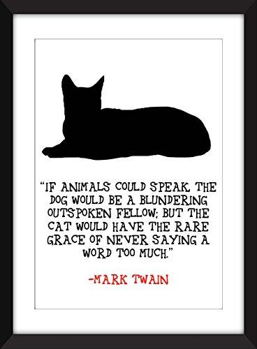 mark-twain-si-les-animaux-pouvaient-parler-dimpression-if-animals-could-speak-unframed-imprimer