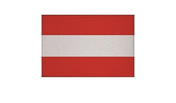 U24 Aufn/äher Niederlande-Deutschland Fahne Flagge Aufb/ügler Patch 9 x 6 cm