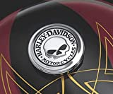Medaglione x Tappo Serbatoio Willie G Skull Orig. Harley Davidson