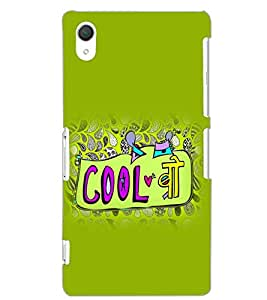 SONY XPERIA Z2 COOL BRO Back Cover by PRINTSWAG