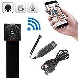 Xizfday 721P HD Mini Telecamera Wireless WiFi IP Telecamera Nascosta Spia Videocamera di Sicurezza Segreta Portatile di Sorveglianza
