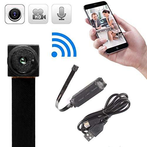 Xizfday 720P HD Mini Cámara Inalámbrica WiFi IP