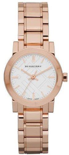 Burberry Damen-Armbanduhr BU9204, Armband aus Edelstahl Farbe Gold (Burberry Damen Uhr)