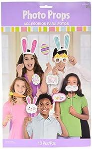 Amscan International 399647 - Accesorios para Fotos de Pascua