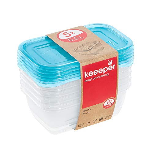 Imagen de Tarteras de Plástico Keeeper por menos de 3 euros.