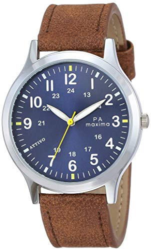 Maxima Analog Blue Dial Men's Watch-O-57342LMGI