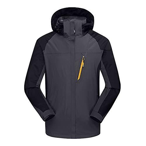 Herren Mantel warmen Männer Tasche Solide Jacke Pullover Sweatshirt Hoodie Langarm Oberbekleidung Hoodie Kapuzenpullover Coat ()