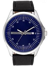 Reloj hombre Louis Villiers acero negro 47 mm ag3804 – 05